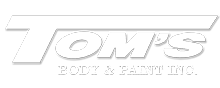 toms body and paint logo